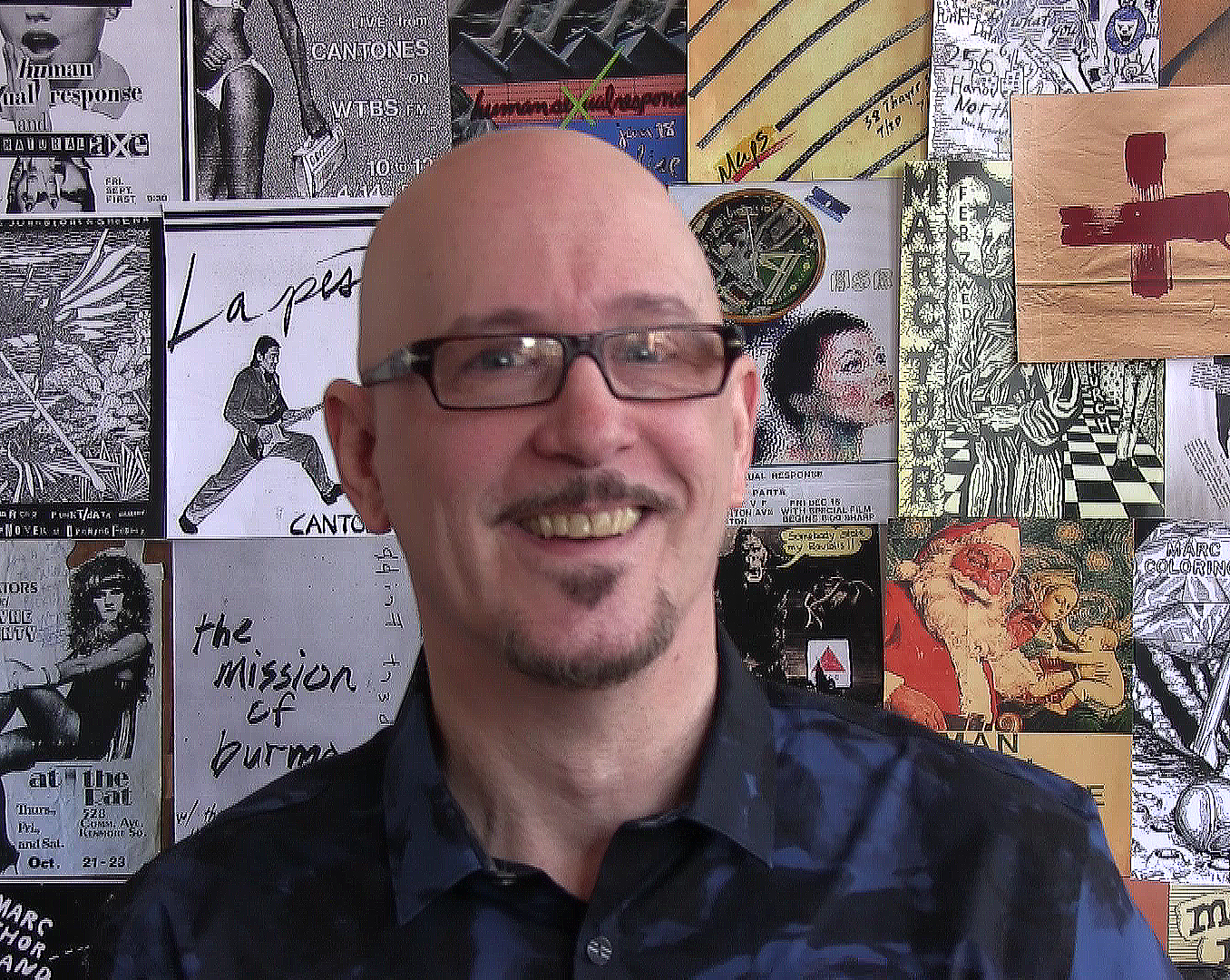 Andy  Reissig-Silkscreen Designer/Punk Fashion Plate