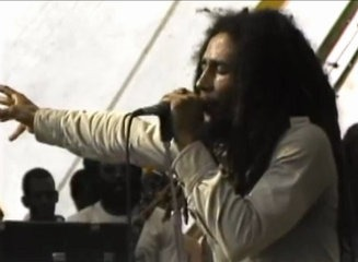 Bob Marley and the Wailers at Harvard Stadium 1979