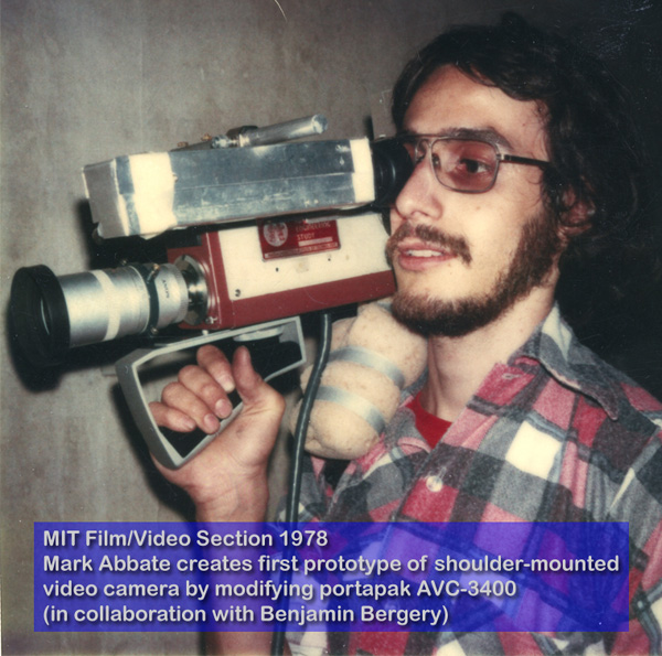 Mark Abbate Prototype Camera 1978 MIT Film-Video-