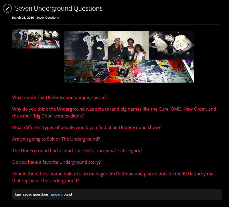 Seven Underground Questions Kino Digital Video