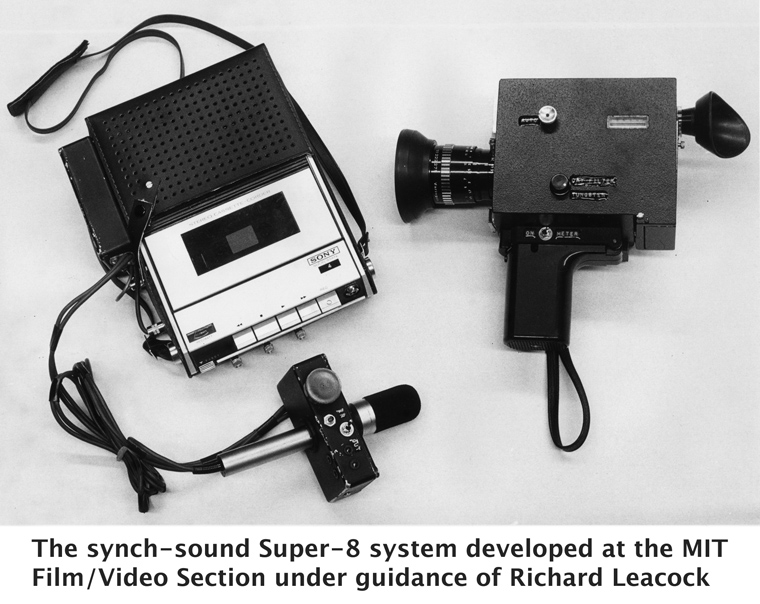 Super-8 Synch-Sound System developed at MIT Film-Video Section under guidance of Richard Leacock-